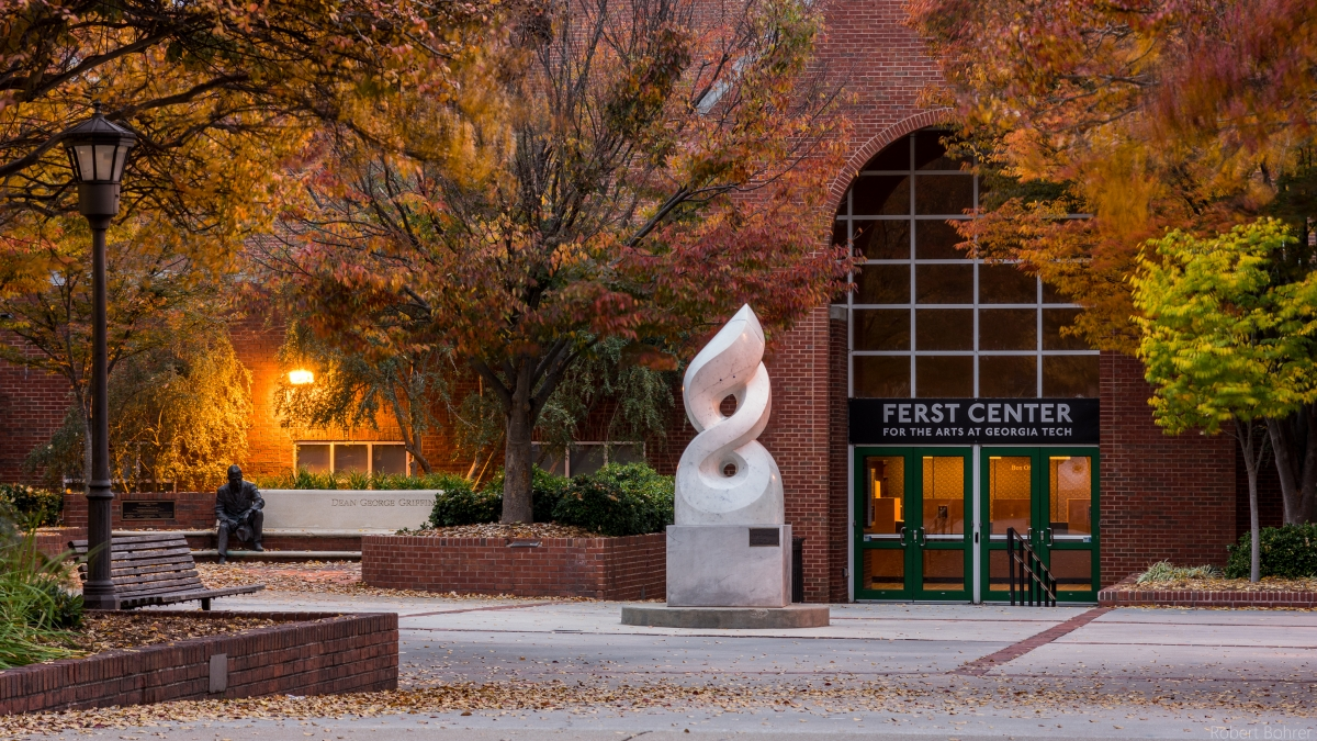 Ferst Center in the fall