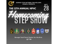 The 13th annual NPHC Homecoming Step Show October 28 7pm