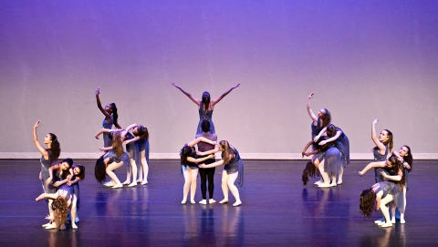 Decatur School of Ballet in performance