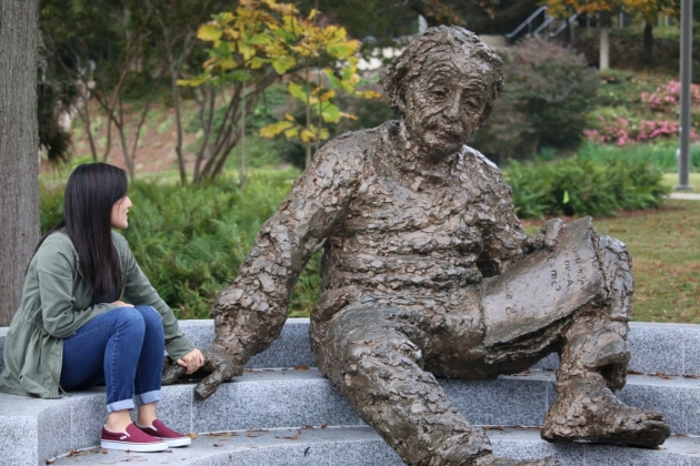 Einstein Sculpture